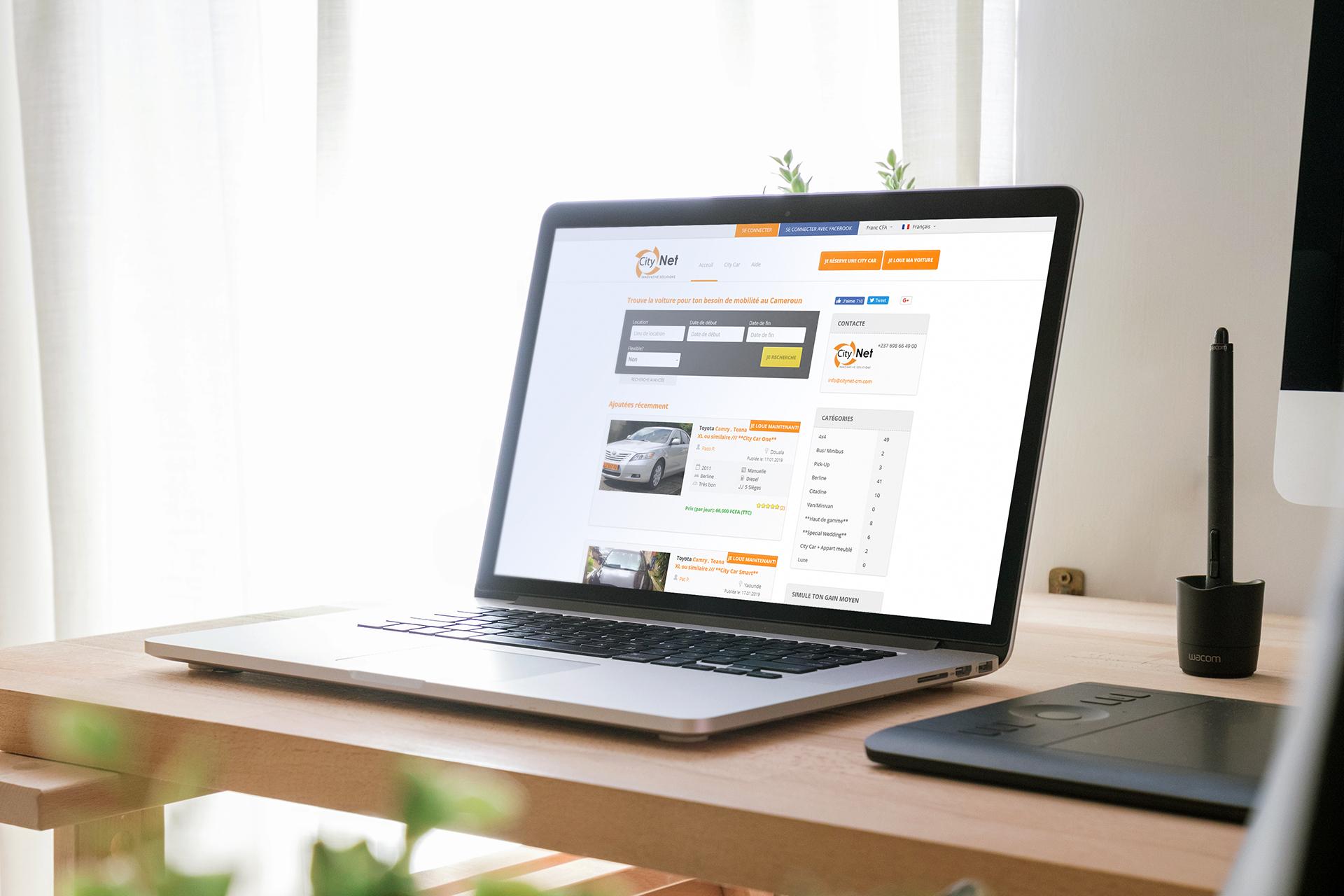 citynet - Privates Carsharing per Web - Peer-to-Peer-Carsharing Plattform