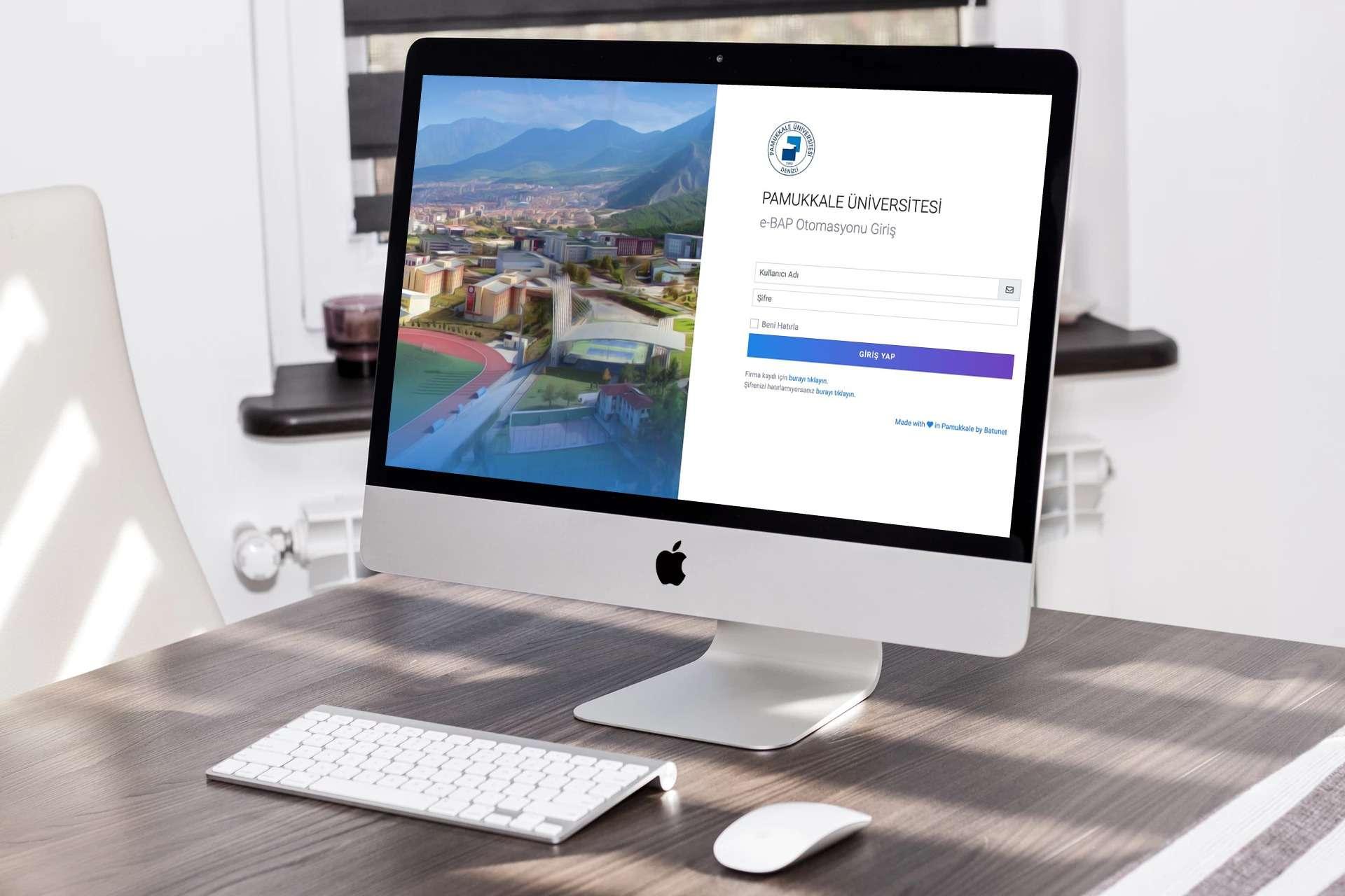 PAU e-BAP - Bilimsel Araştırma Projeleri Koordinasyon Birimi Otomasyonu